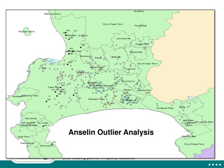 Anselin Outlier Analysis