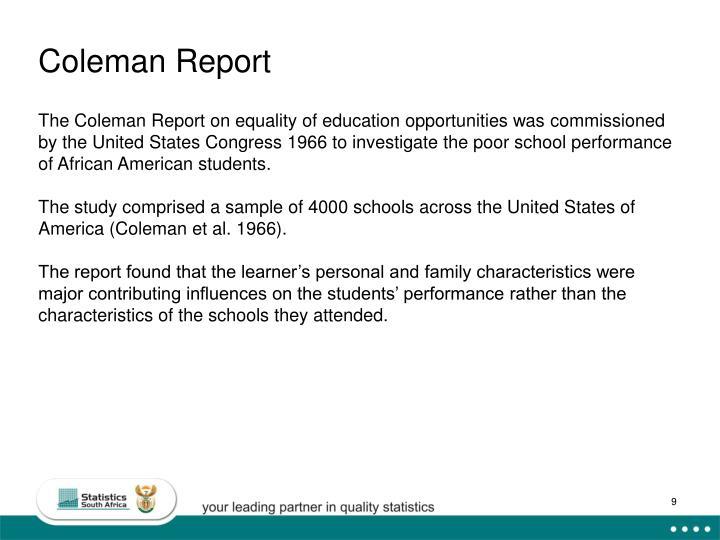 Coleman Report