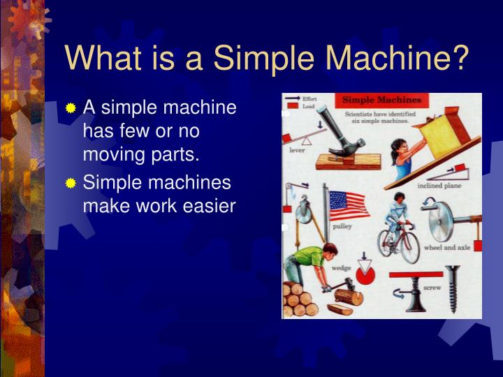 what is a simple machine n.