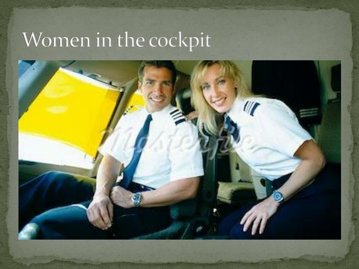 Women in the cockpit