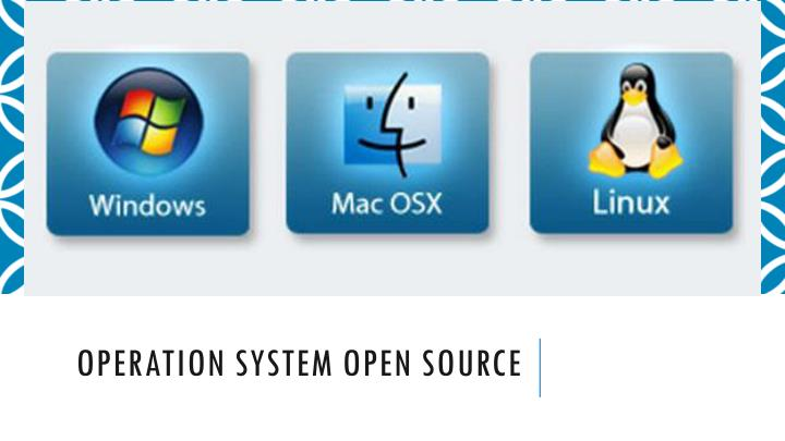 operation system open source n.