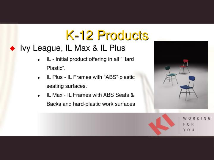 K-12 Products