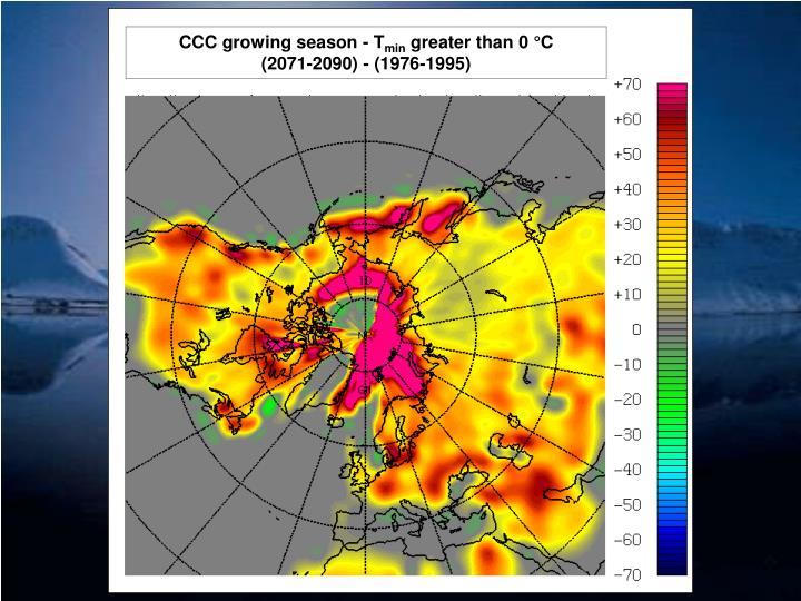 CCC growing season - T