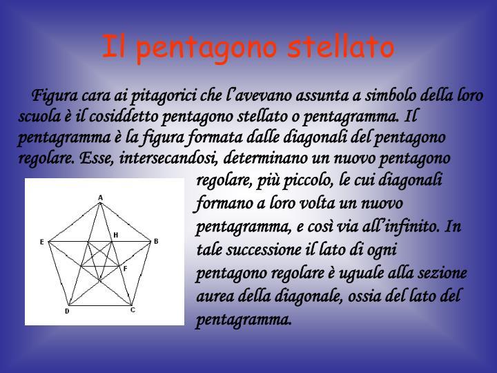 Il pentagono stellato