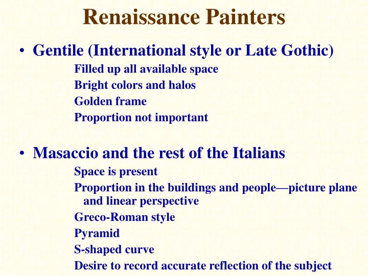 Gentile (International style or Late Gothic)
