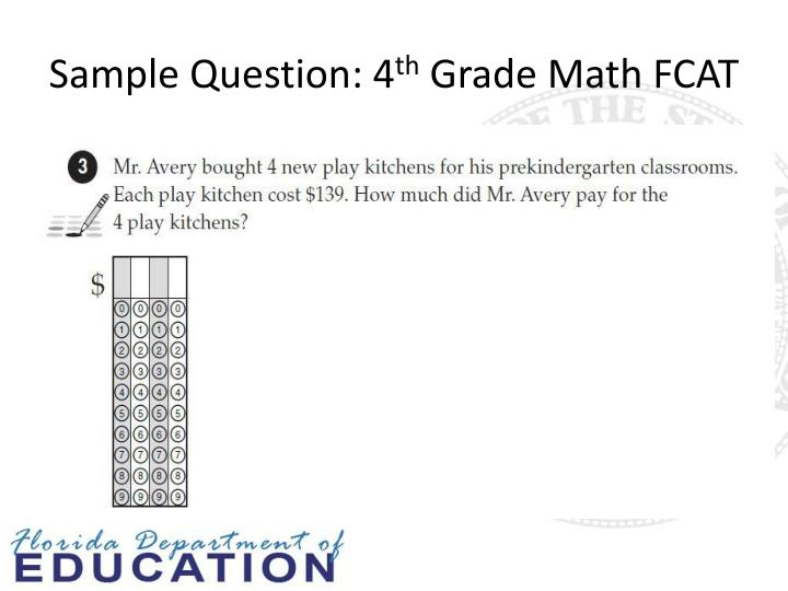 Sample Question: 4