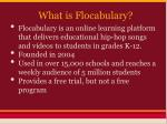 what is flocabulary