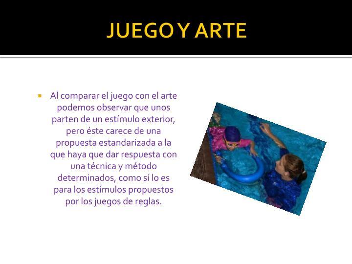 JUEGO Y ARTE