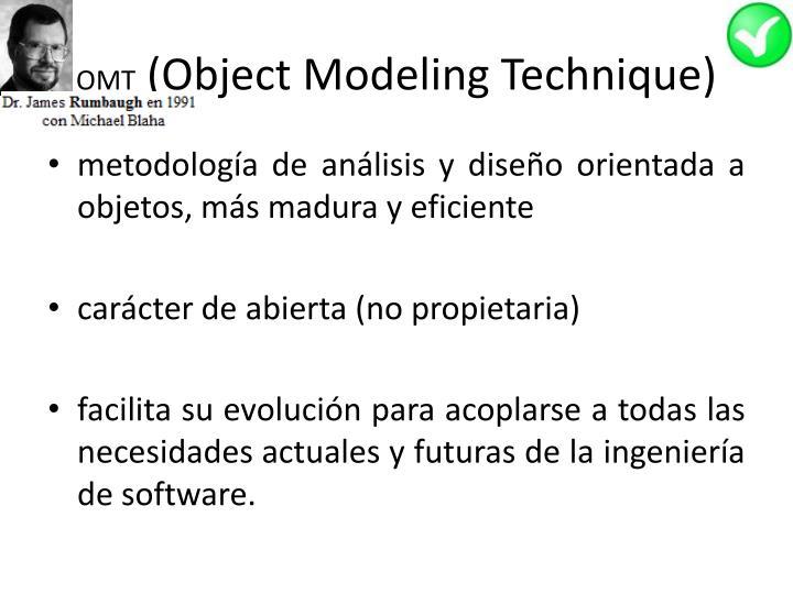 Omt object modeling technique