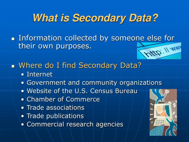 What is Secondary Data?