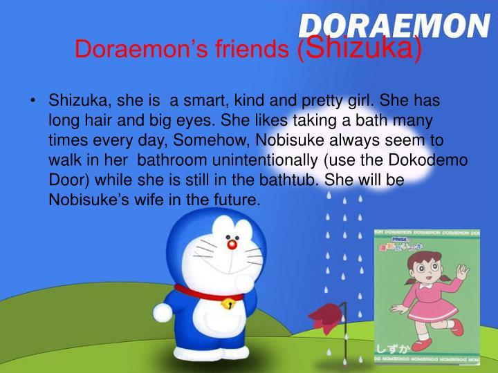 Doraemon s friends shizuka