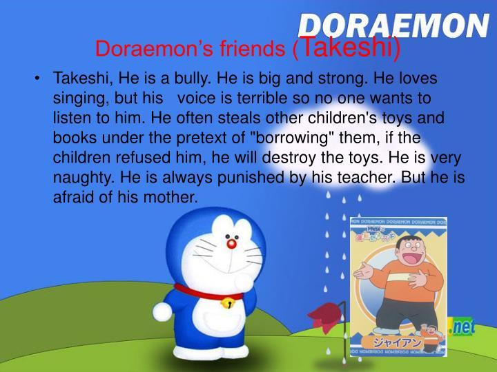 Doraemon's friends (