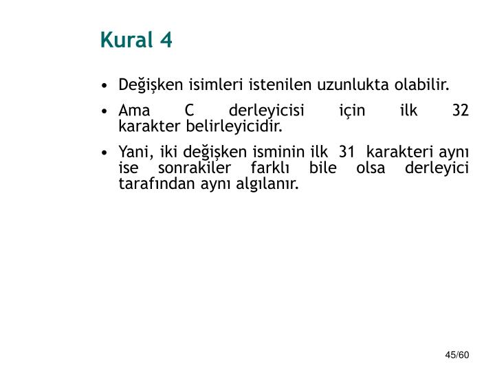 Kural 4