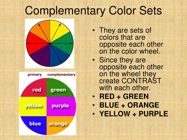 Complementary Color Sets