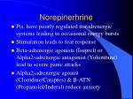norepinerhrine