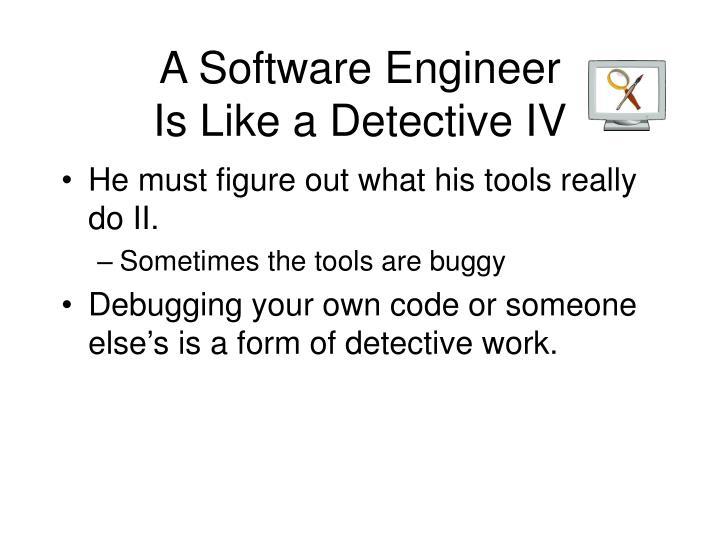 A Software Engineer