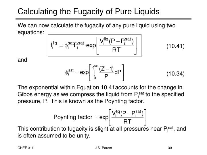 PPT - 5. Equations of State SVNA Chapter 3 PowerPoint ...