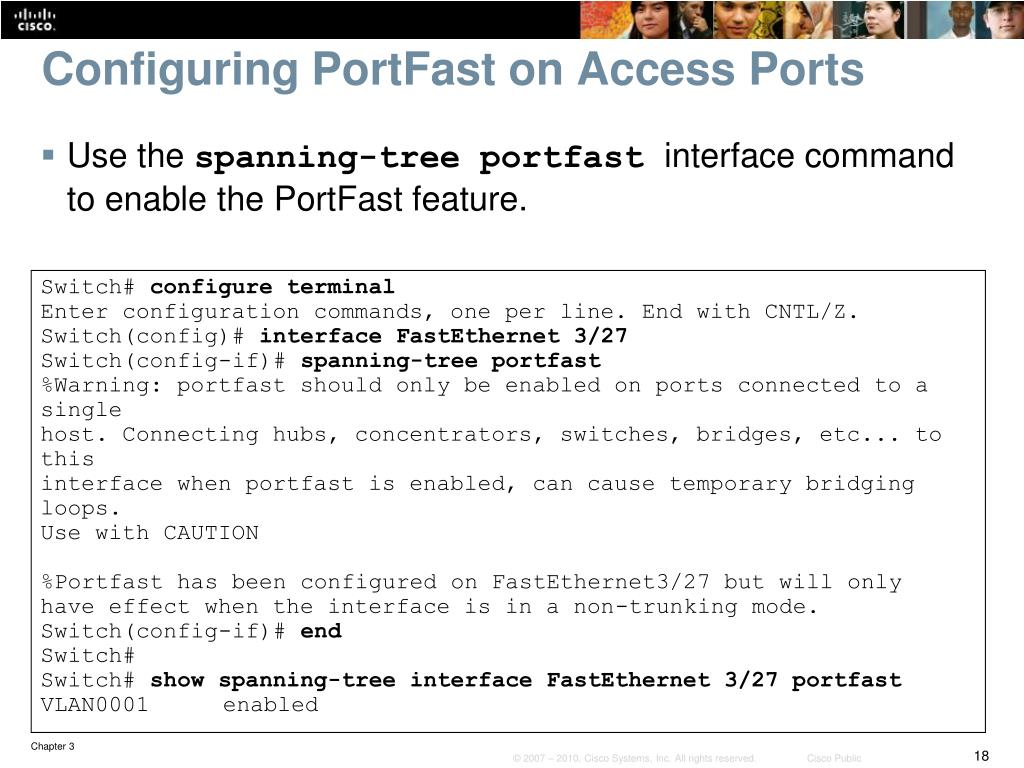 PPT - Chapter 3: Implementing Spanning Tree PowerPoint