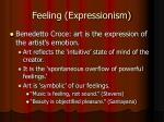 feeling expressionism