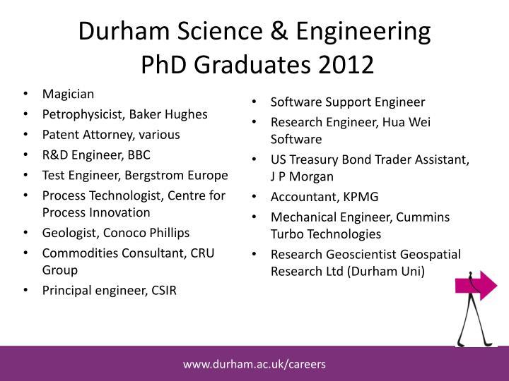 Durham Science & Engineering