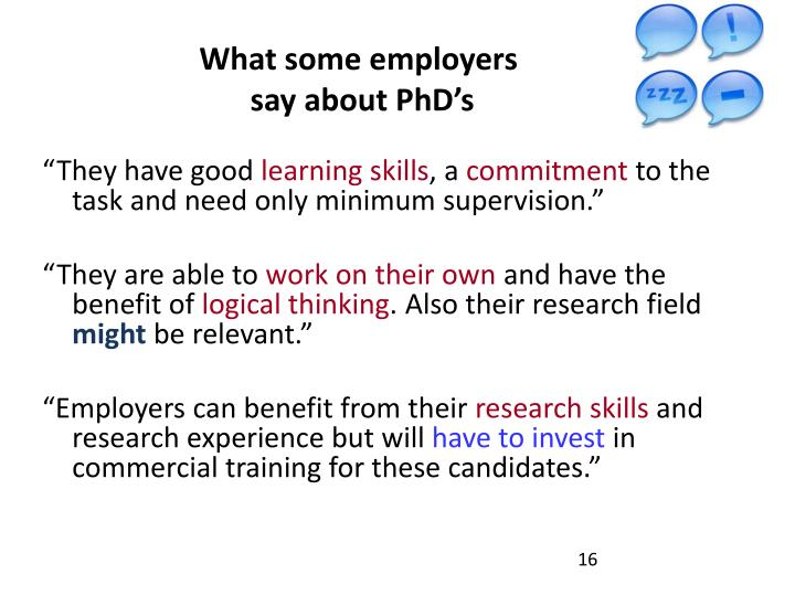 What some employers