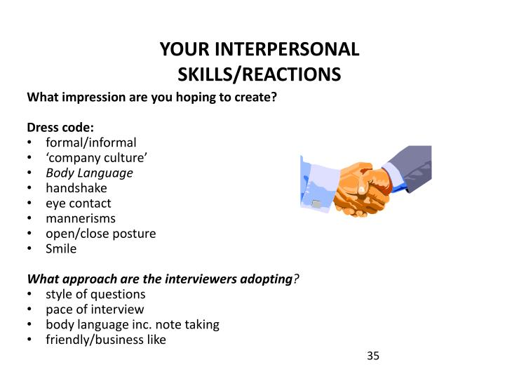 YOUR INTERPERSONAL