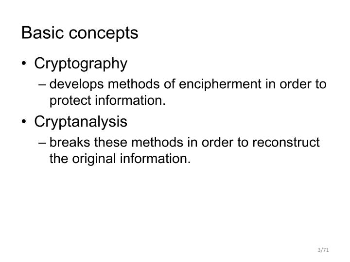Basic concepts1