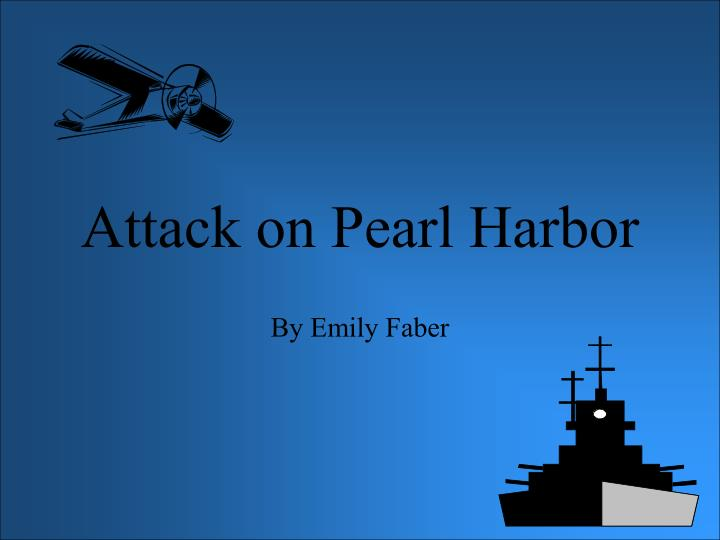 attack on pearl harbor n.
