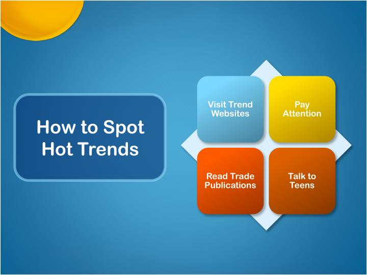 How to spot hot trends