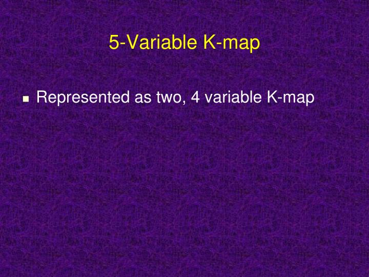 5 variable k map ppt