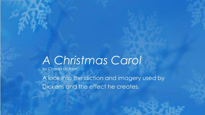 PPT - A Christmas Carol by Charles Dickens PowerPoint Presentation, free download - ID:5383211