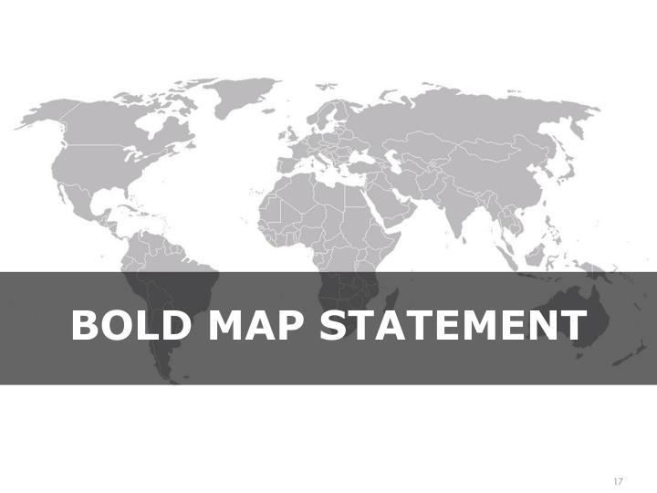 Bold map Statement