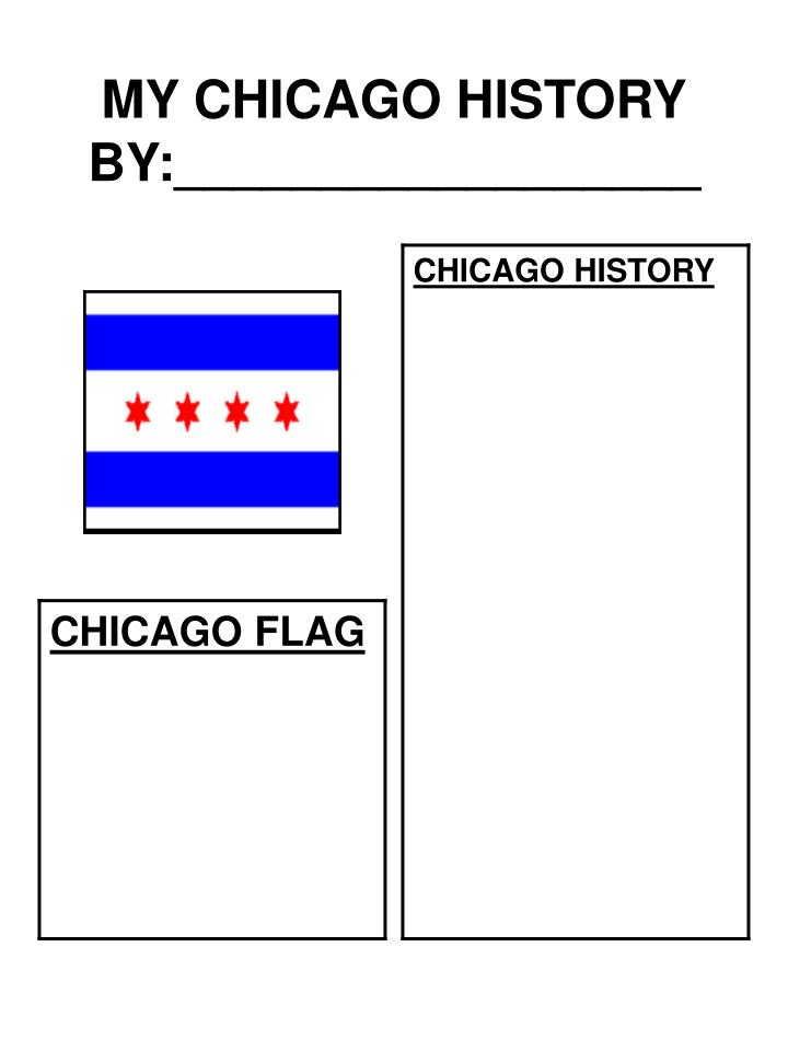 my chicago history by n.