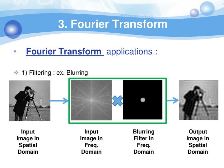 3. Fourier Transform