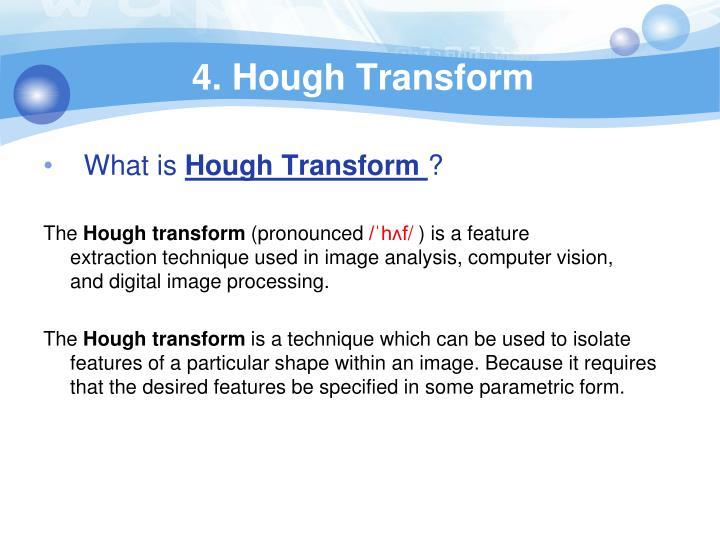 4. Hough Transform