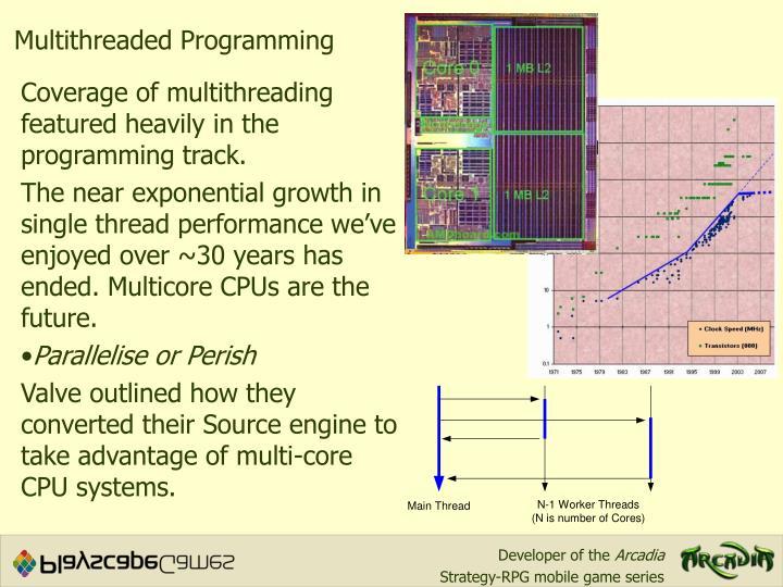 Multithreaded Programming