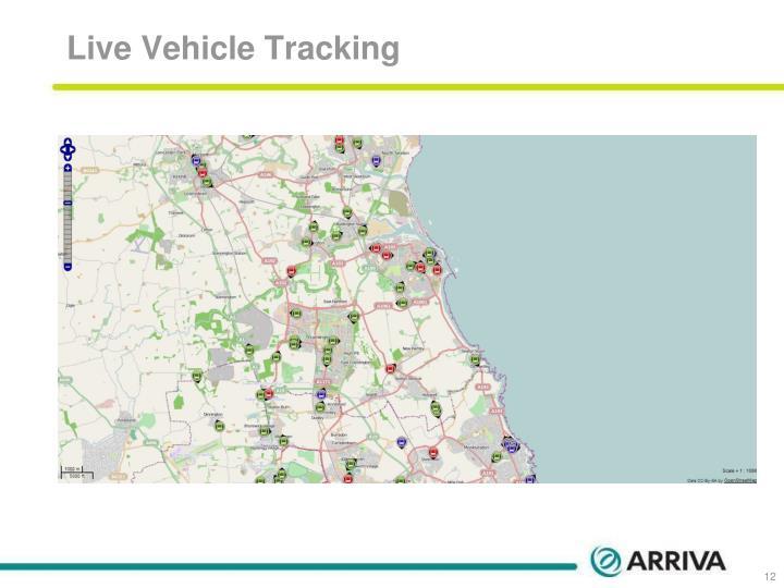 Live Vehicle Tracking