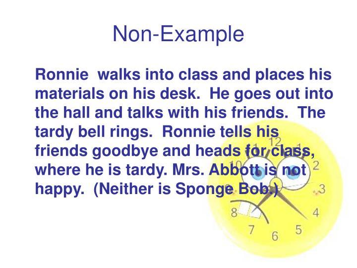 Non-Example