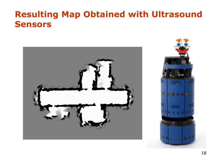 Resulting Map Obtained with Ultrasound Sensors