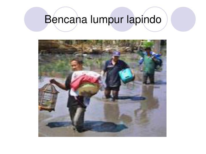 Bencana lumpur lapindo