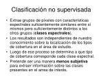 clasificaci n no supervisada1
