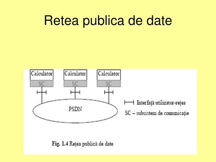 Retea publica de date