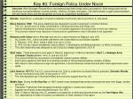 key 80 foreign policy under nixon