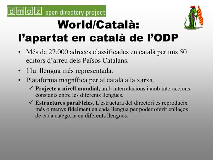 World/Català: