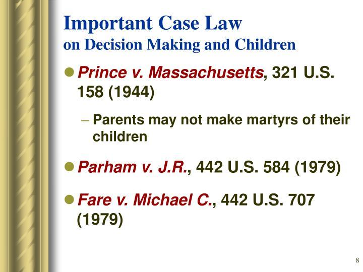 Important Case Law