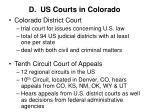 d us courts in colorado1