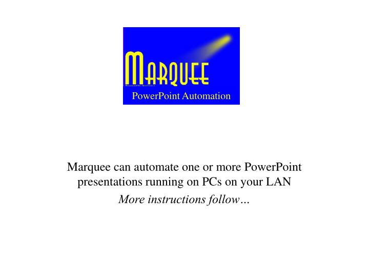 powerpoint automation n.