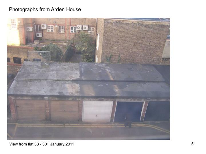 Photographs from Arden House