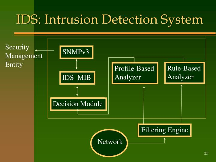 IDS: Intrusion Detection System