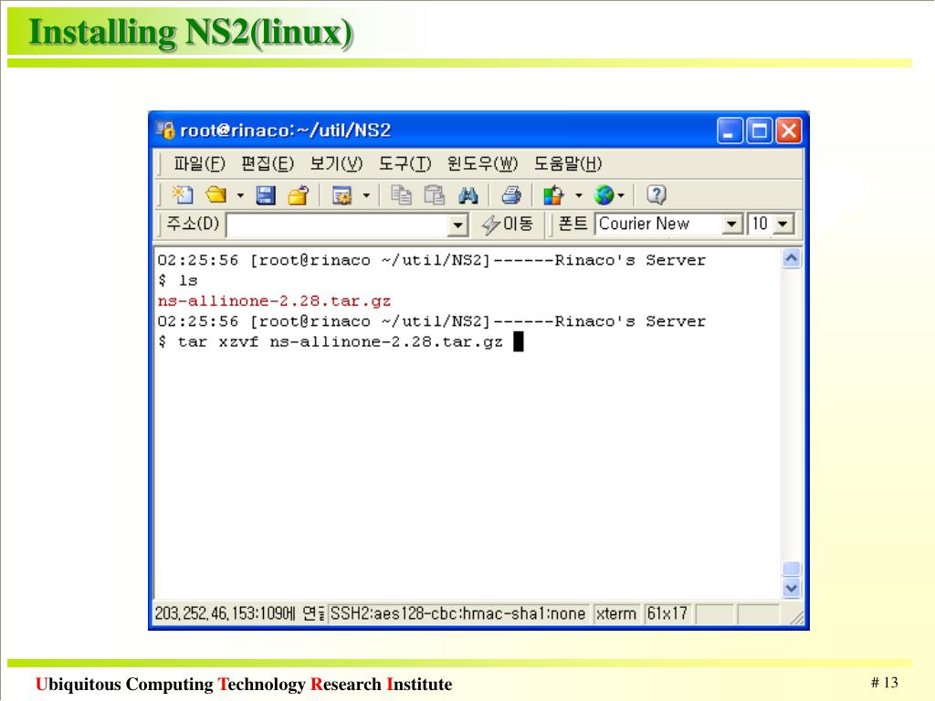 PPT - Network Simulator(NS2) - Mobile Networking PowerPoint
